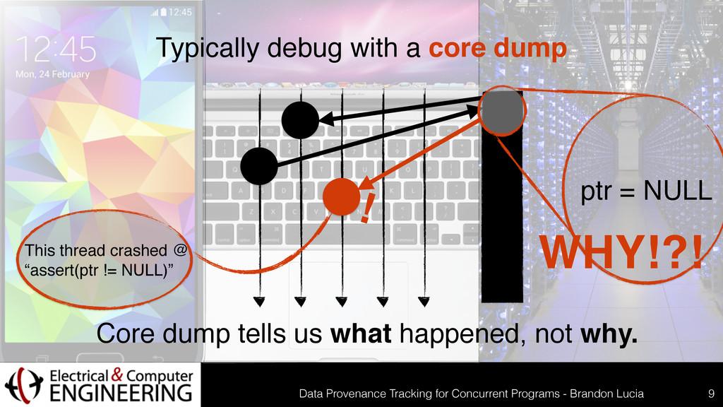 Data Provenance Tracking for Concurrent Program...
