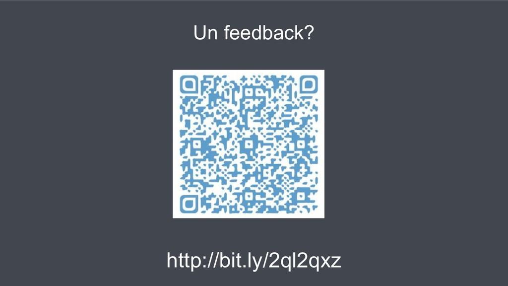 Un feedback? http://bit.ly/2ql2qxz
