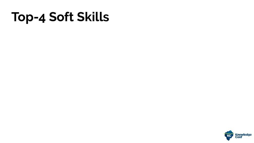 Top-4 Soft Skills