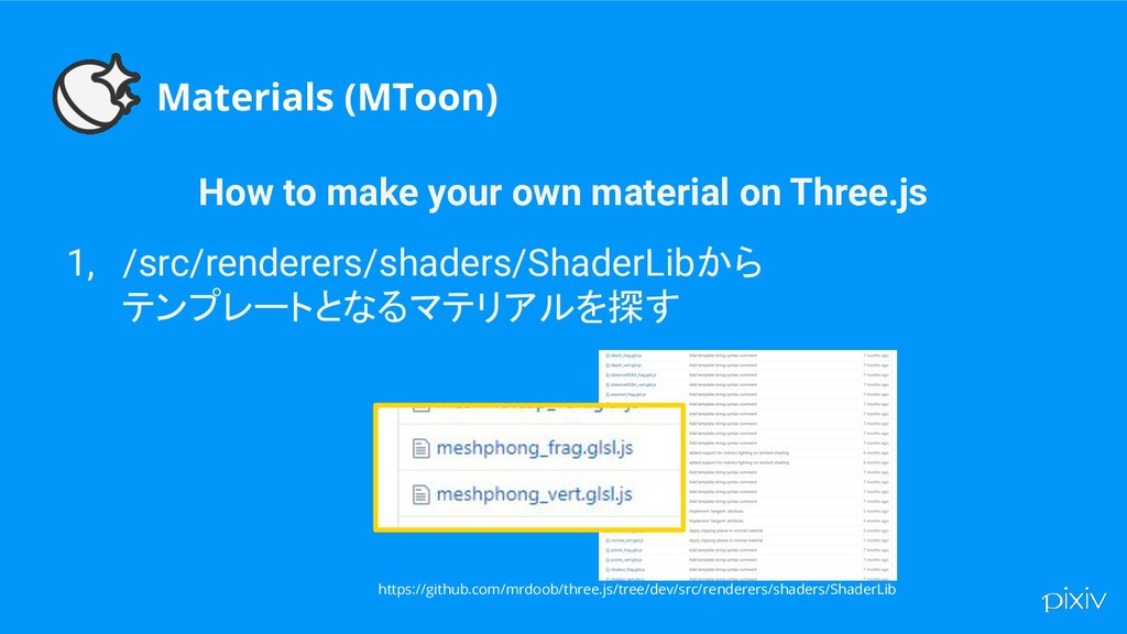 Materials (MToon) How to make your own material...