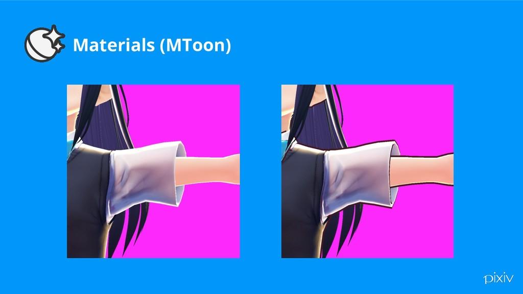 Materials (MToon)