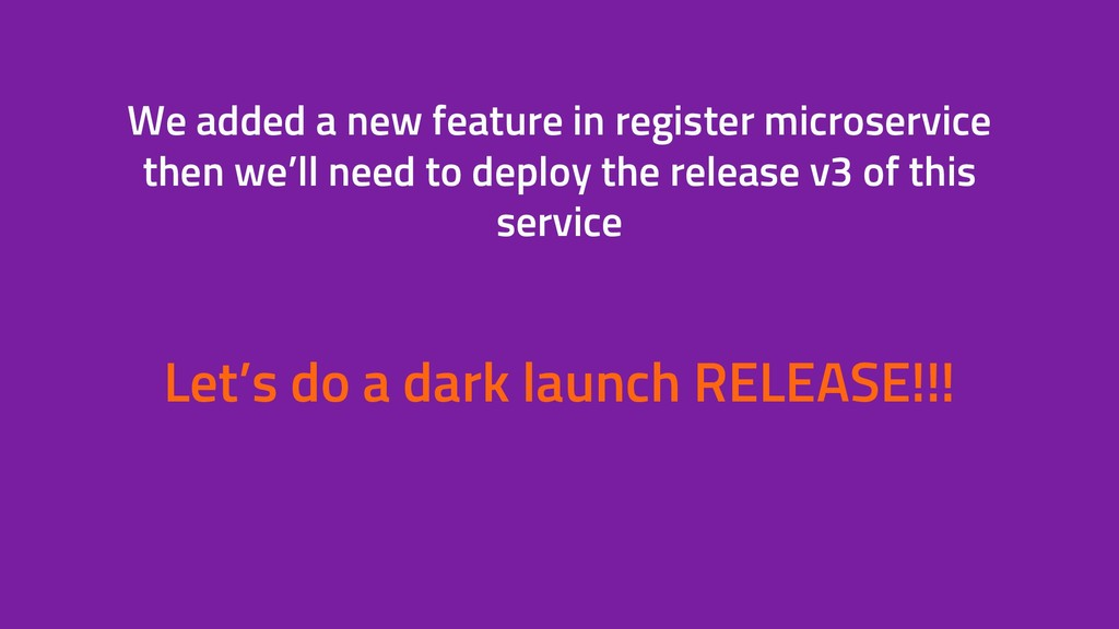 We added a new feature in register microservice...