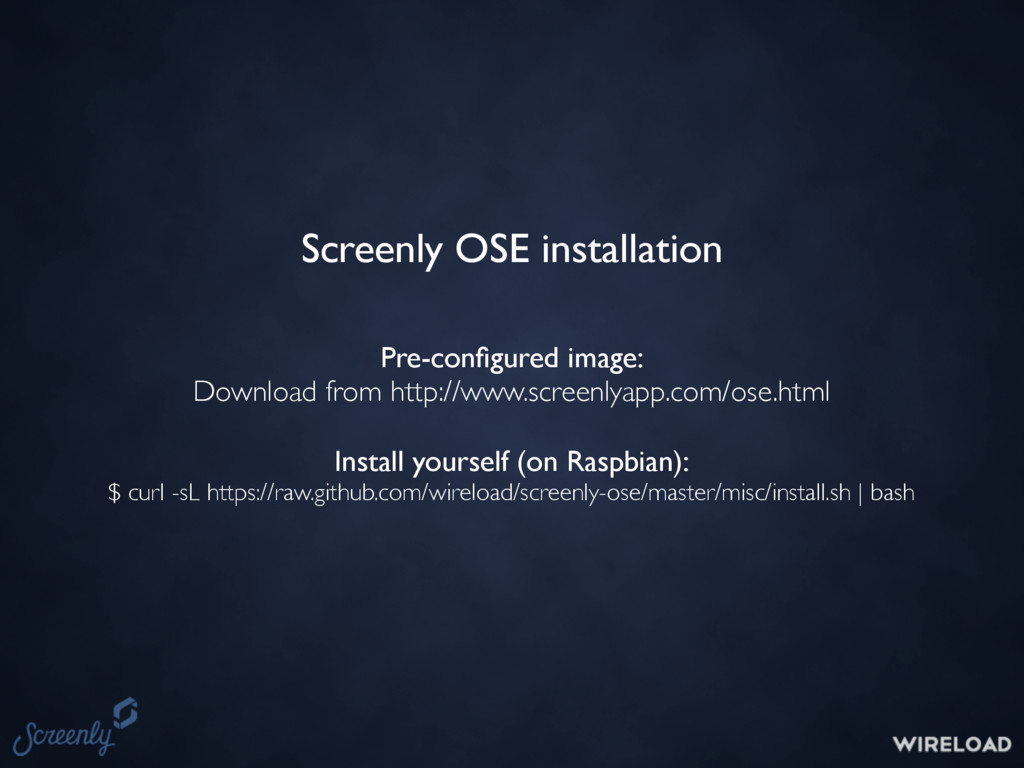Pre-configured image: Download from http://www.s...