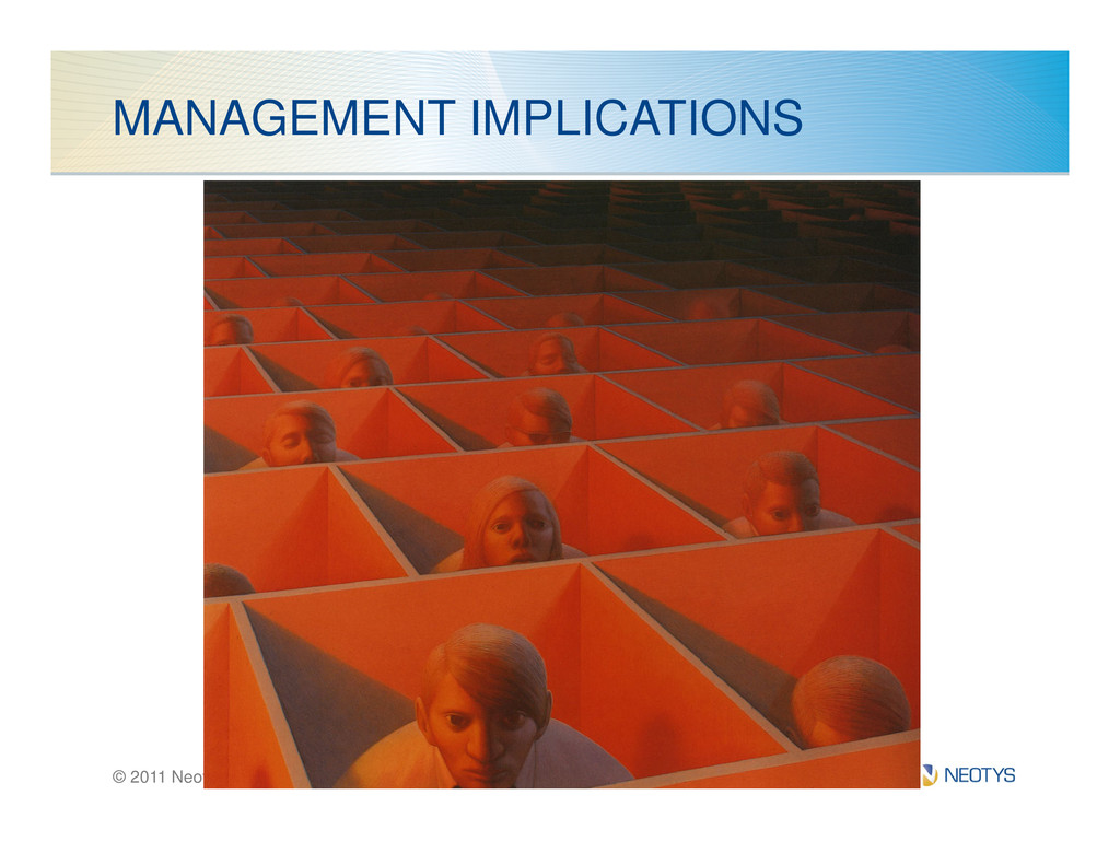 MANAGEMENT IMPLICATIONS © 2011 Neotys - All Rig...