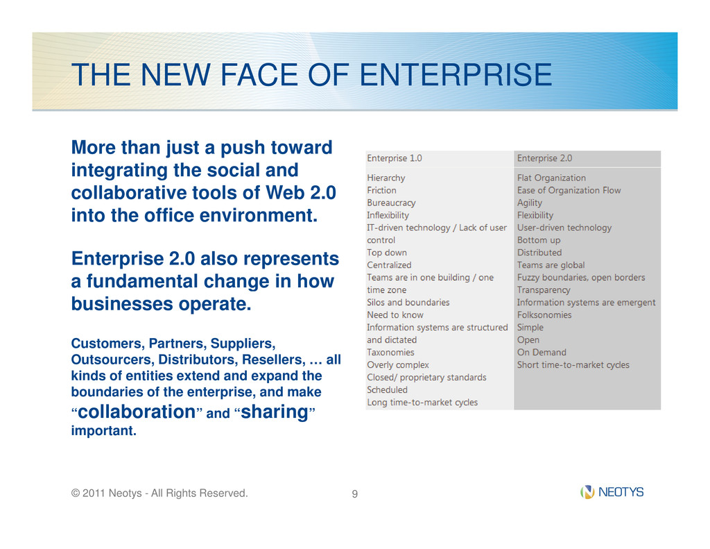 THE NEW FACE OF ENTERPRISE More than just a pus...