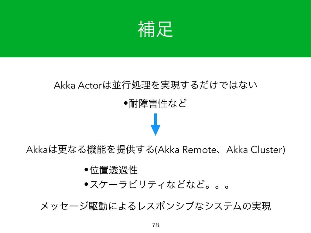 ิ  ϝοηʔδۦಈʹΑΔϨεϙϯγϒͳγεςϜͷ࣮ݱ Akka ActorฒߦॲཧΛ...