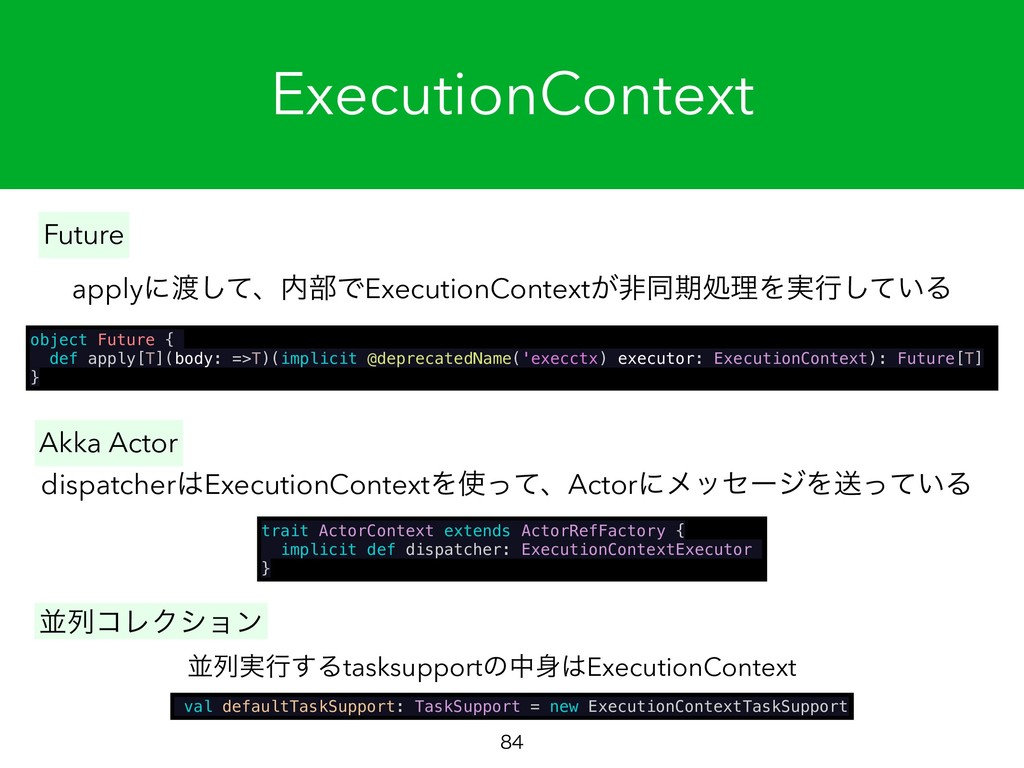 ExecutionContext  object Future { def apply[T...