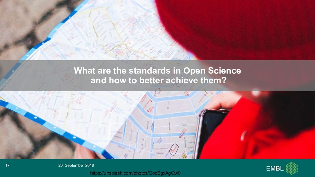 What are the standards in Open Science and how ...