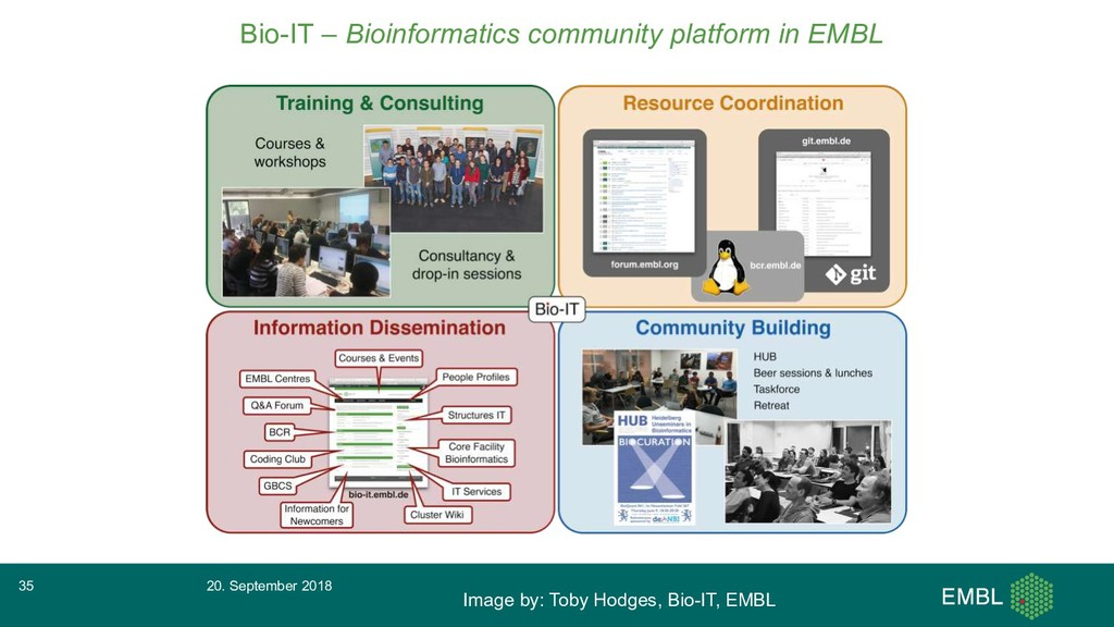 Bio-IT – Bioinformatics community platform in E...