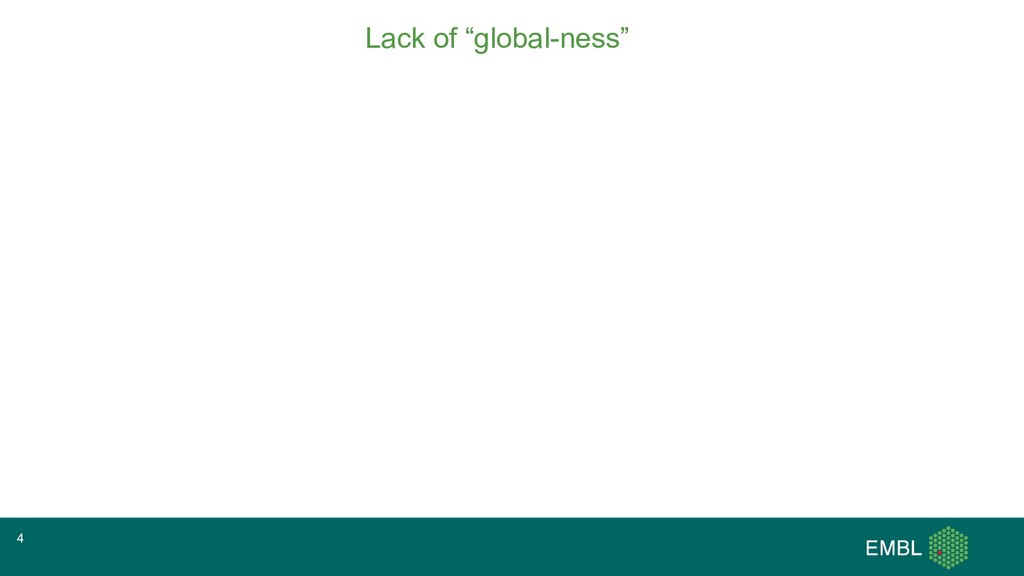 """Lack of """"global-ness"""" 4"""