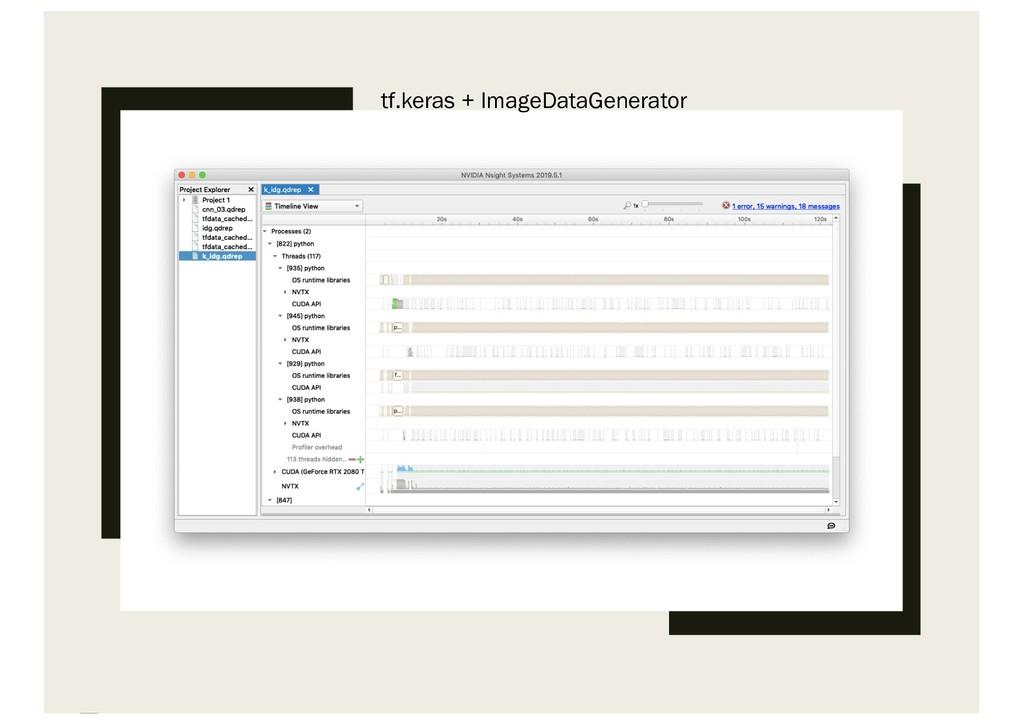 tf.keras + ImageDataGenerator