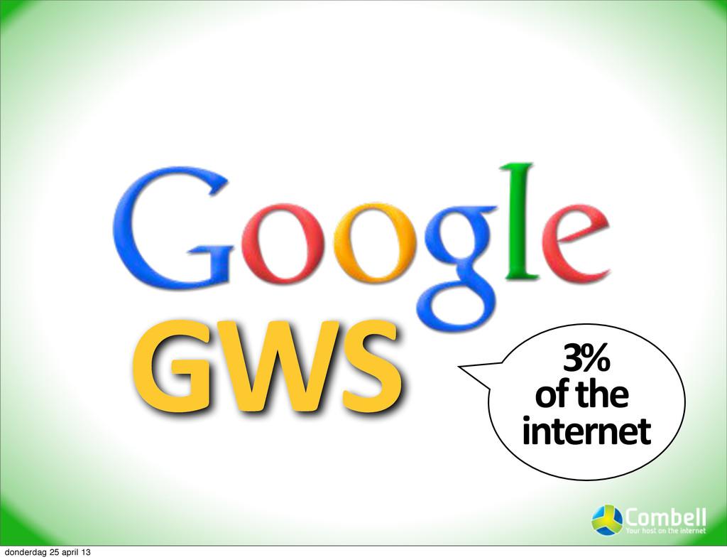 GWS 3%9 of9the9 internet donderdag 25 april 13