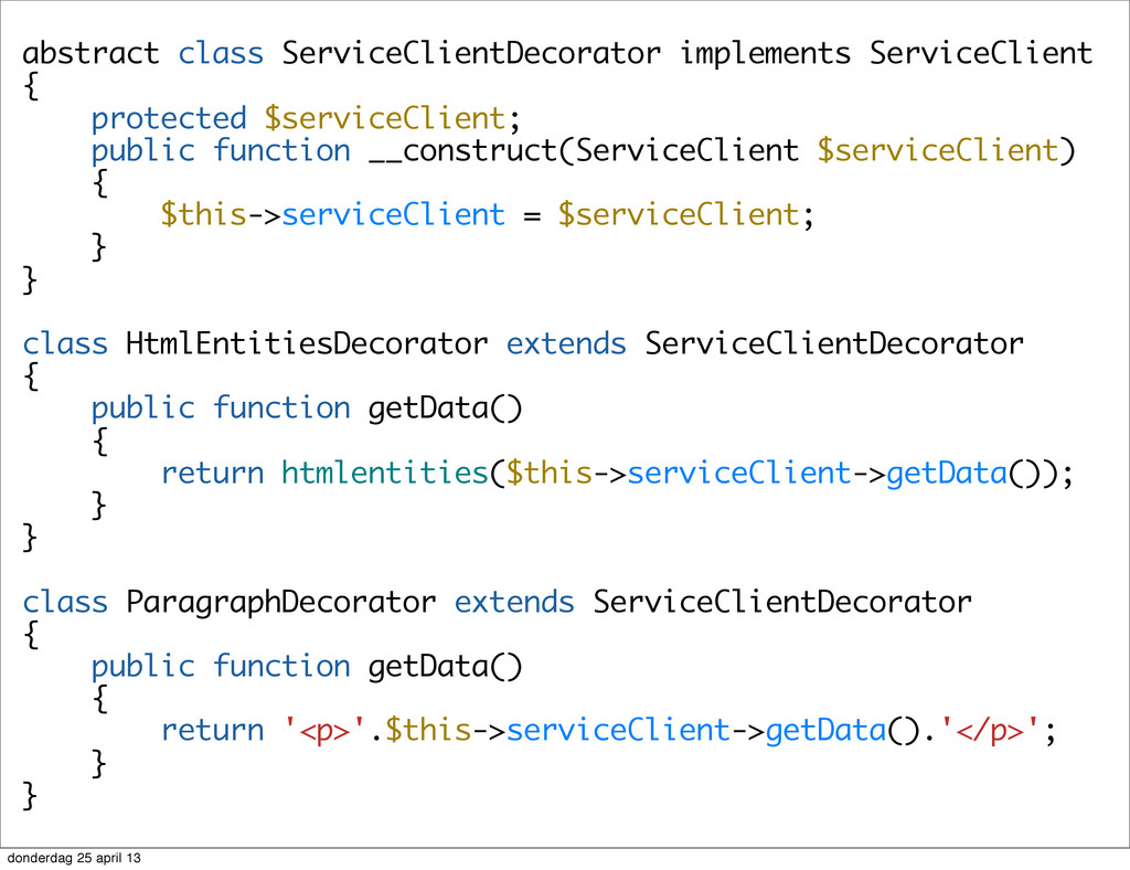 abstract class ServiceClientDecorator implement...
