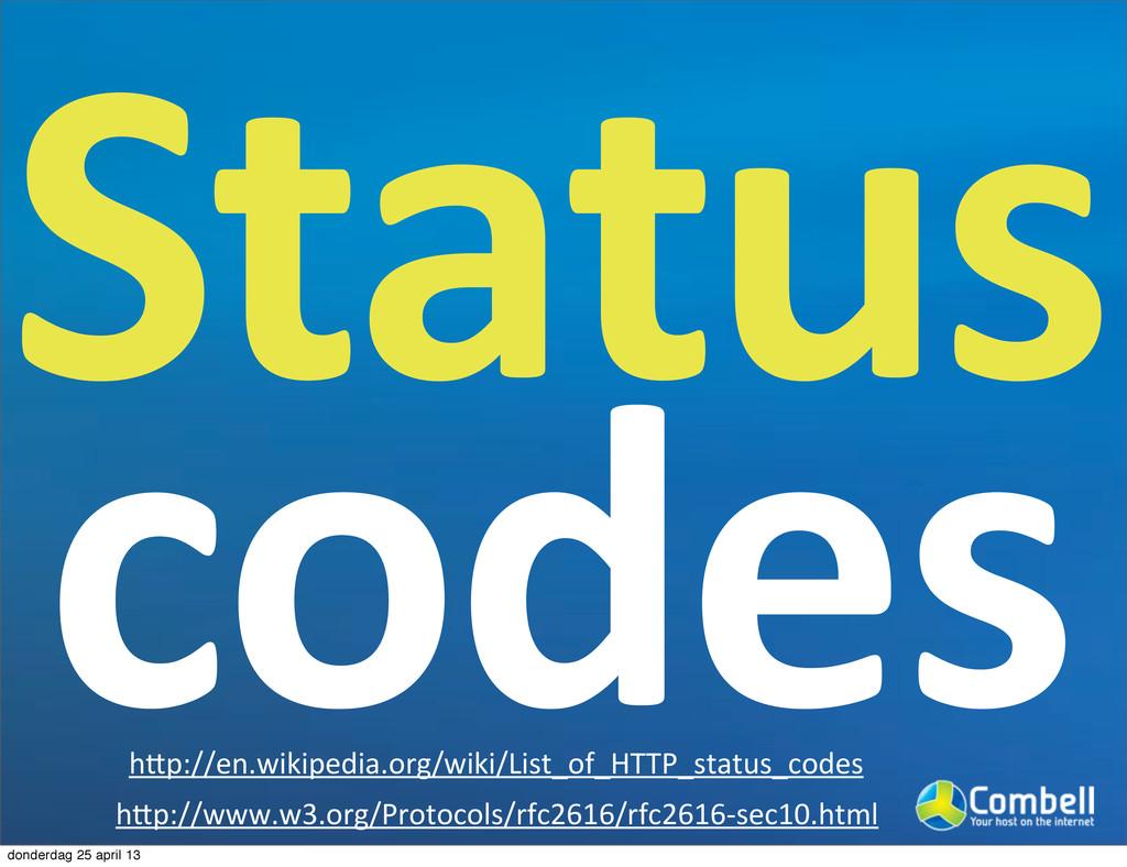 Status0 codes hcp://www.w3.org/Protocols/rfc261...