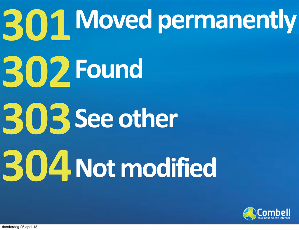 301 302 303 304 Moved9permanently Found See9oth...