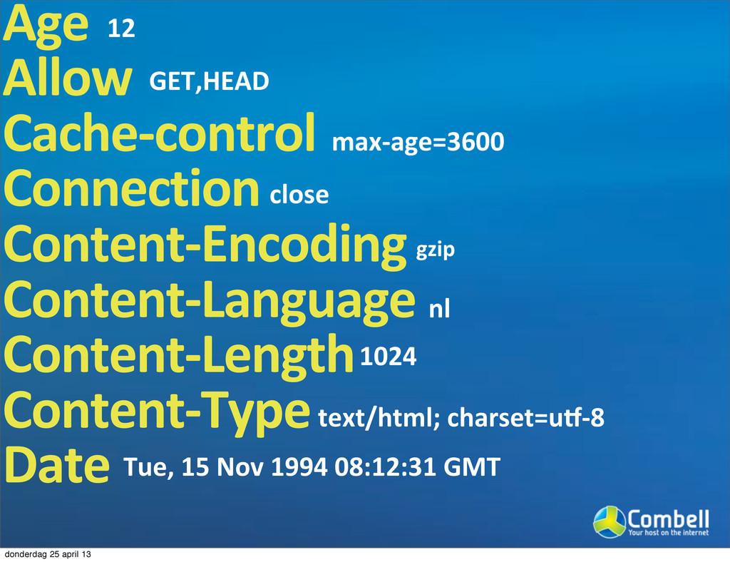 Age Allow Cache3control Connection Content3Enco...