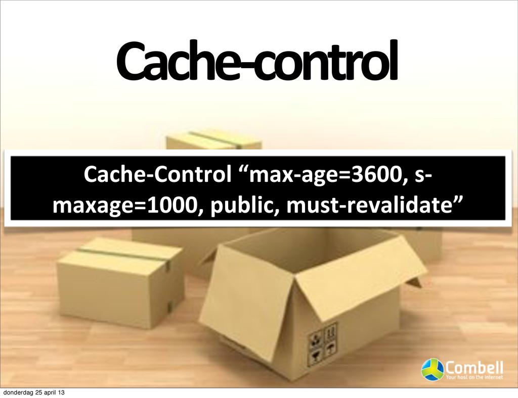 """CacheJcontrol Cache#Control-""""max#age=3600,-s# m..."""