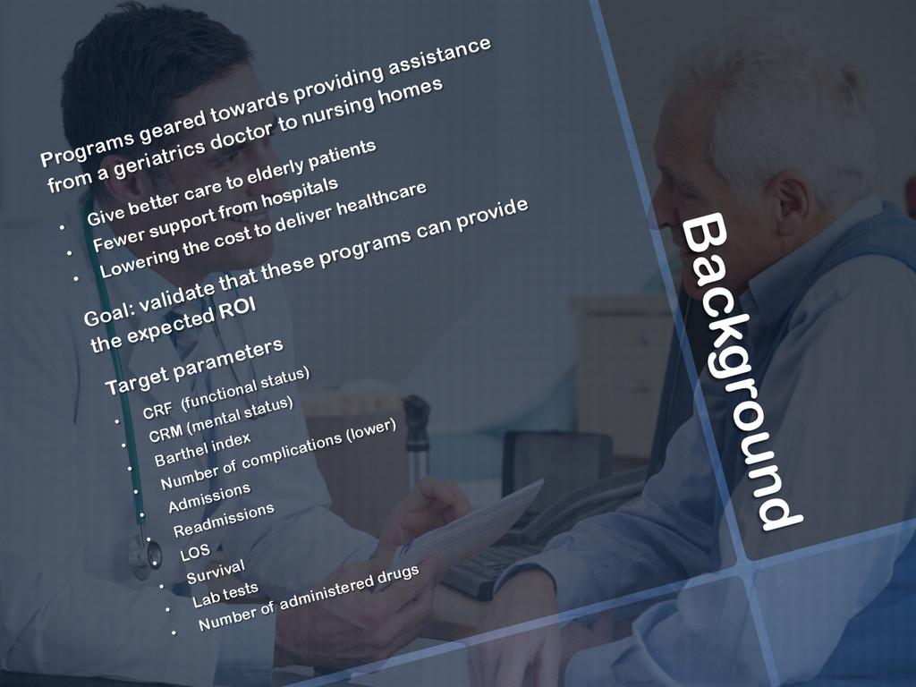 Background Programs geared towards providing as...