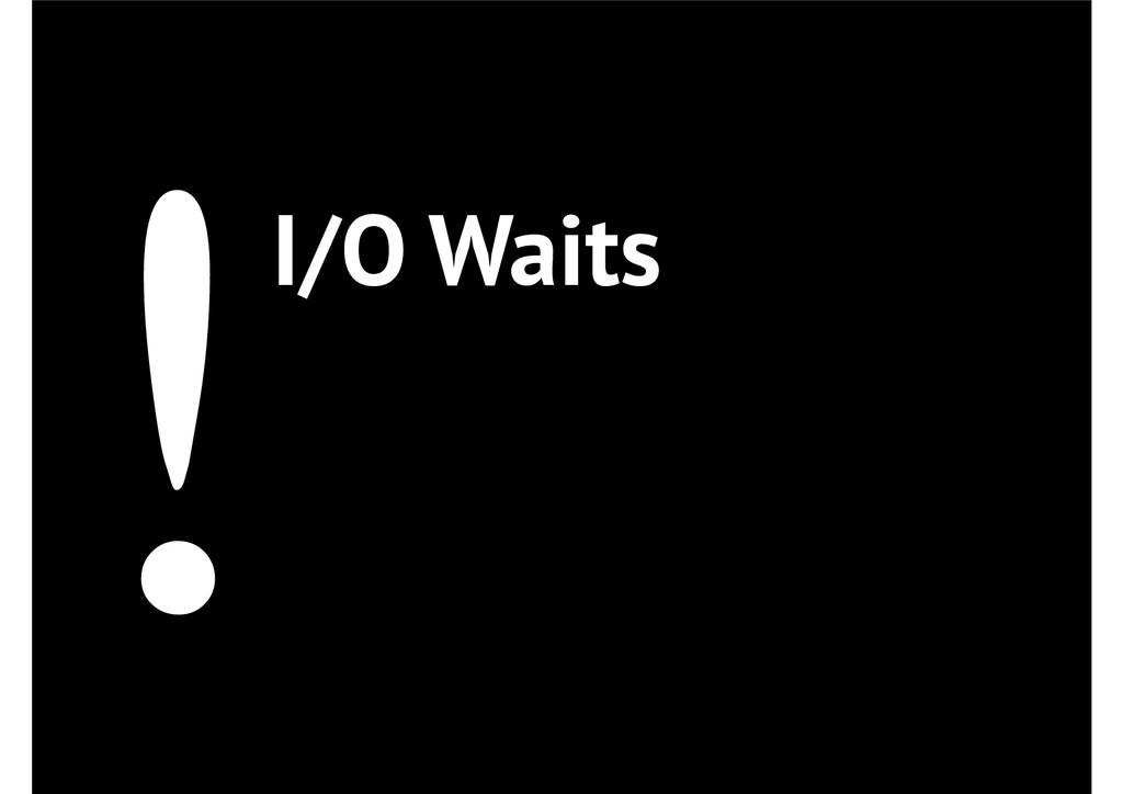 !I/O Waits