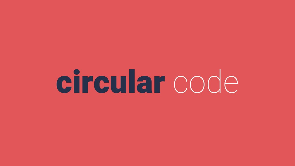 circular code