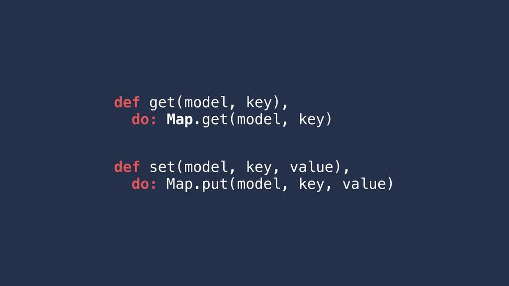 def get(model, key), do: Map.get(model, key) de...