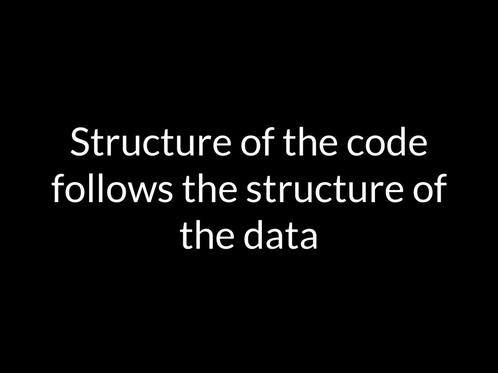 Structure of the code follows the structure of ...