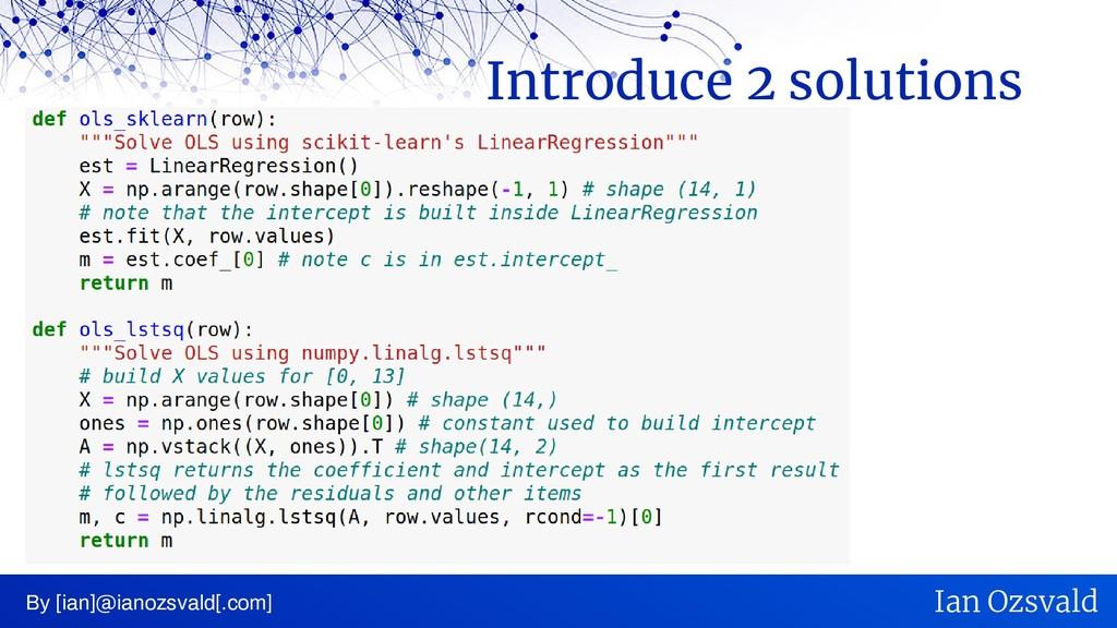 By [ian]@ianozsvald[.com] Ian Ozsvald Introduce...
