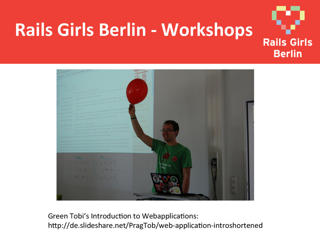 Rails Girls Berlin -‐ Workshops ...