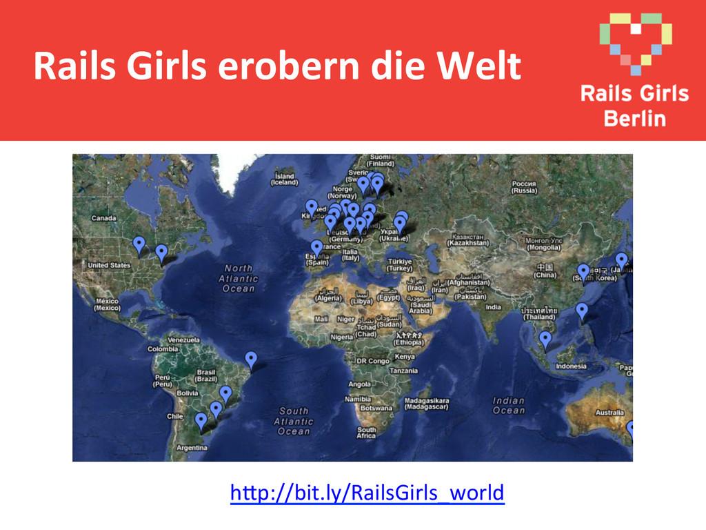 Rails Girls erobern die Welt  h@...