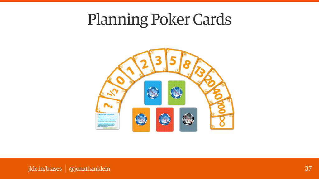 @jonathanklein jkle.in/biases Planning Poker Ca...