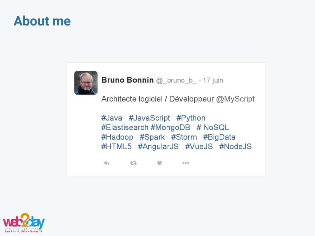 About me Bruno Bonnin @_bruno_b_ - 17 juin Arch...