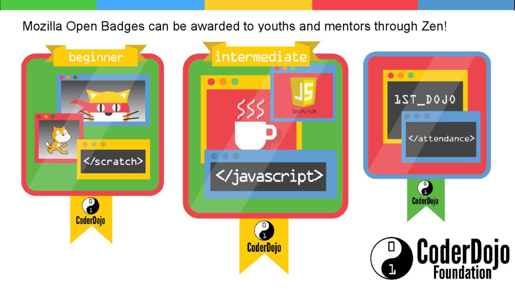 Mozilla Open Badges can be awarded to youths an...