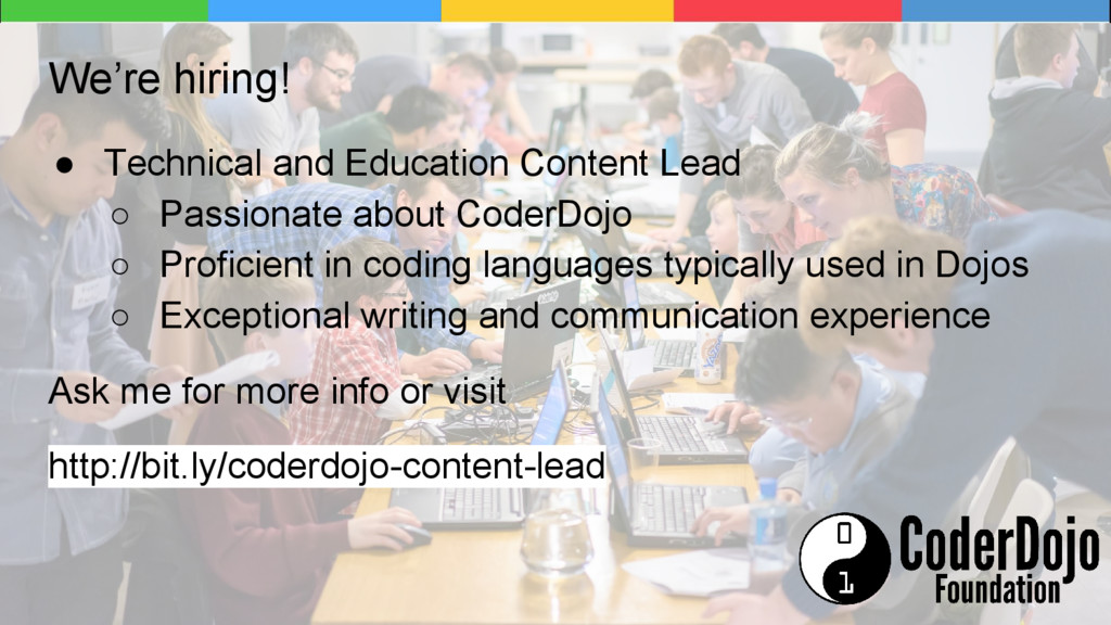 We're hiring! ● Technical and Education Content...