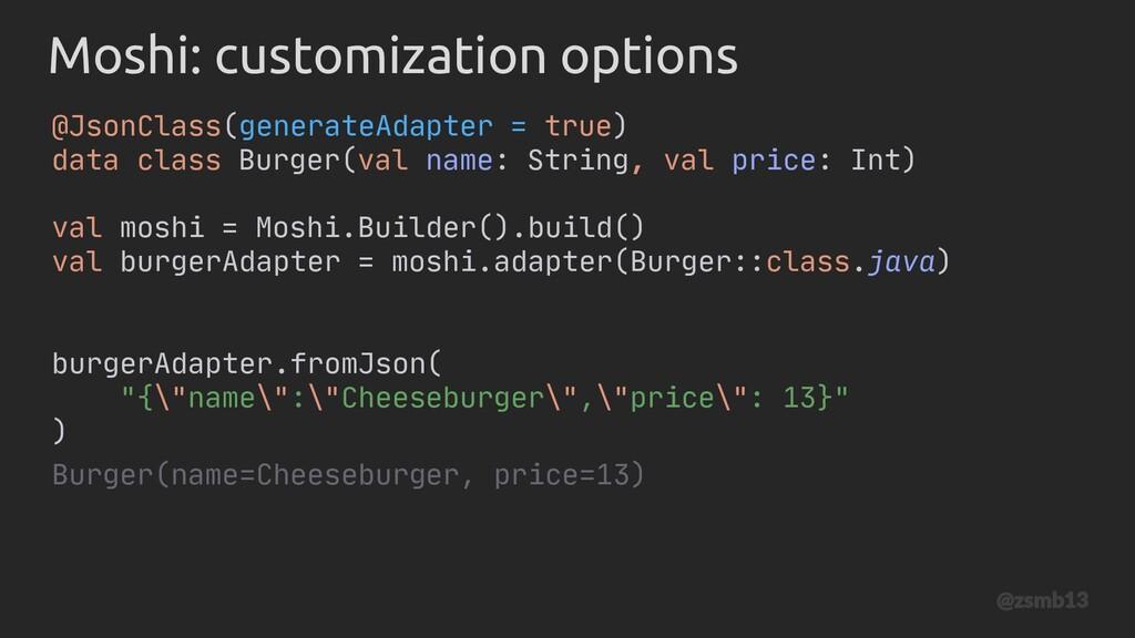 Moshi: customization options @JsonClass(generat...