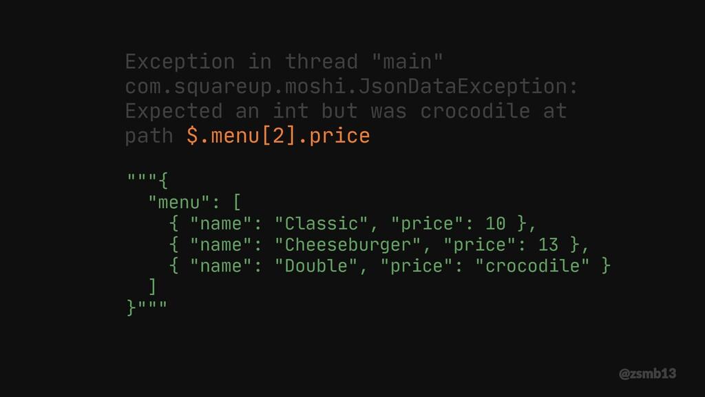 """""""{ ""menu"": [ { ""name"": ""Classic"", ""price"": 10..."