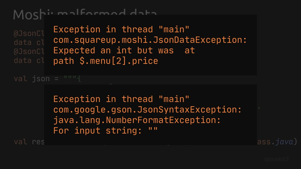 Moshi: malformed data @JsonClass(generateAdapte...