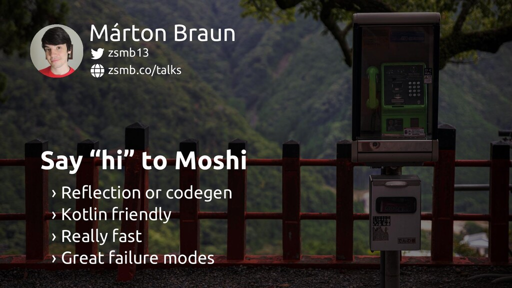 zsmb.co/talks zsmb13 Márton Braun › Reflection ...