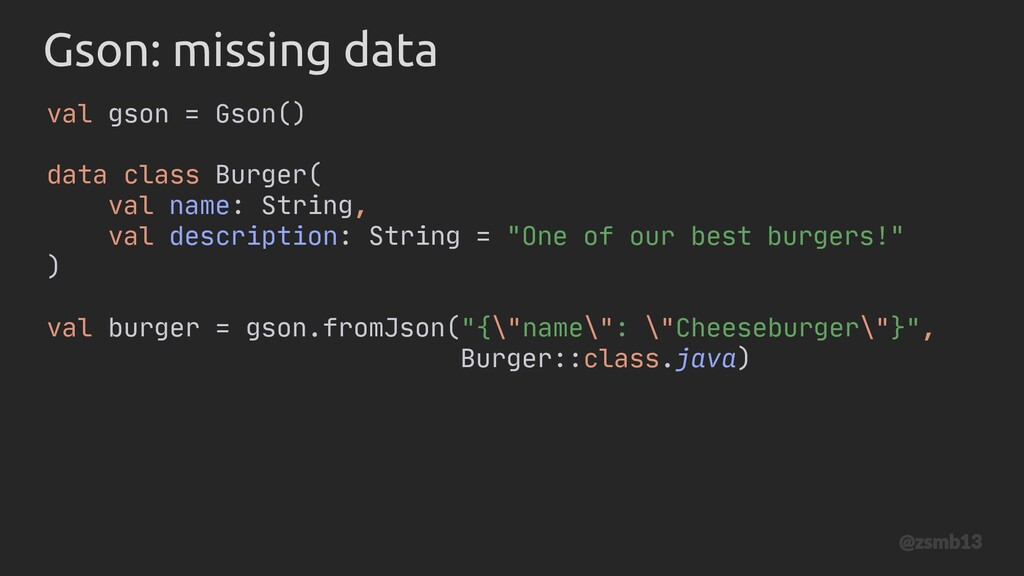 data class Burger( val name: String, val descri...