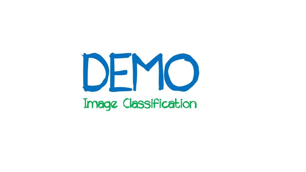 DEMO Image Classification