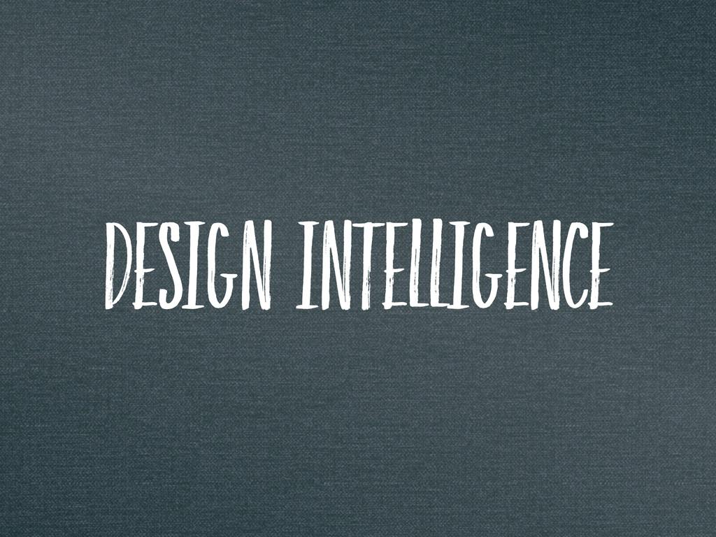 design intelligence