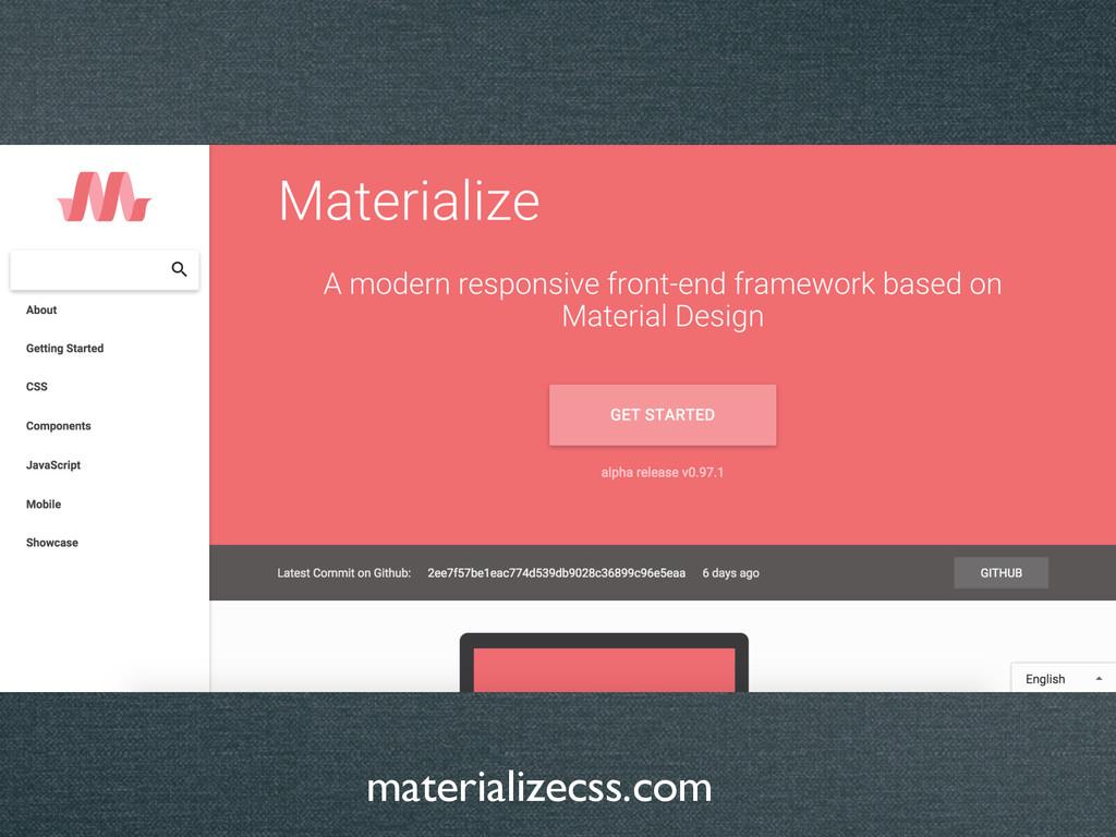 materializecss.com