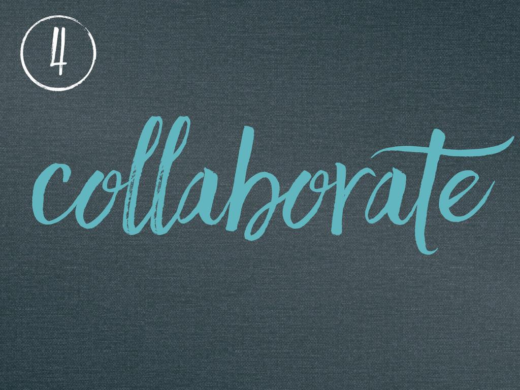 collaborate 4
