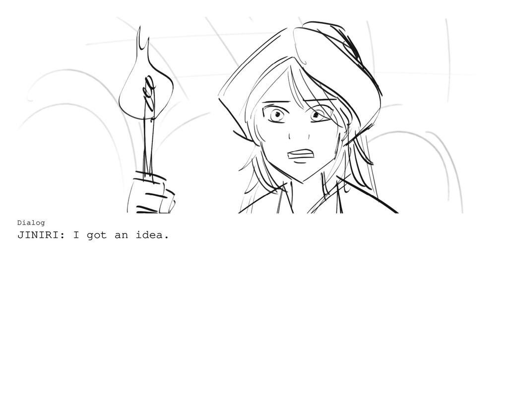 Dialog JINIRI: I got an idea.