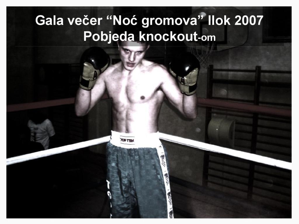 "Gala večer ""Noć gromova"" Ilok 2007 Pobjeda knoc..."