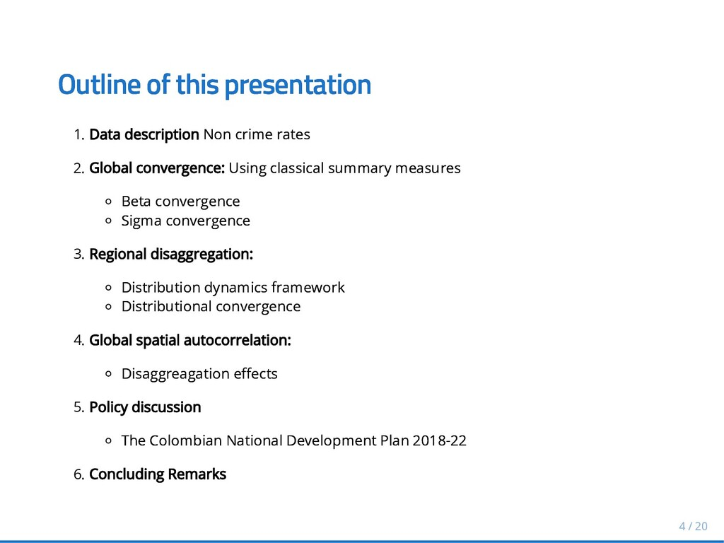 Outline of this presentation Outline of this pr...