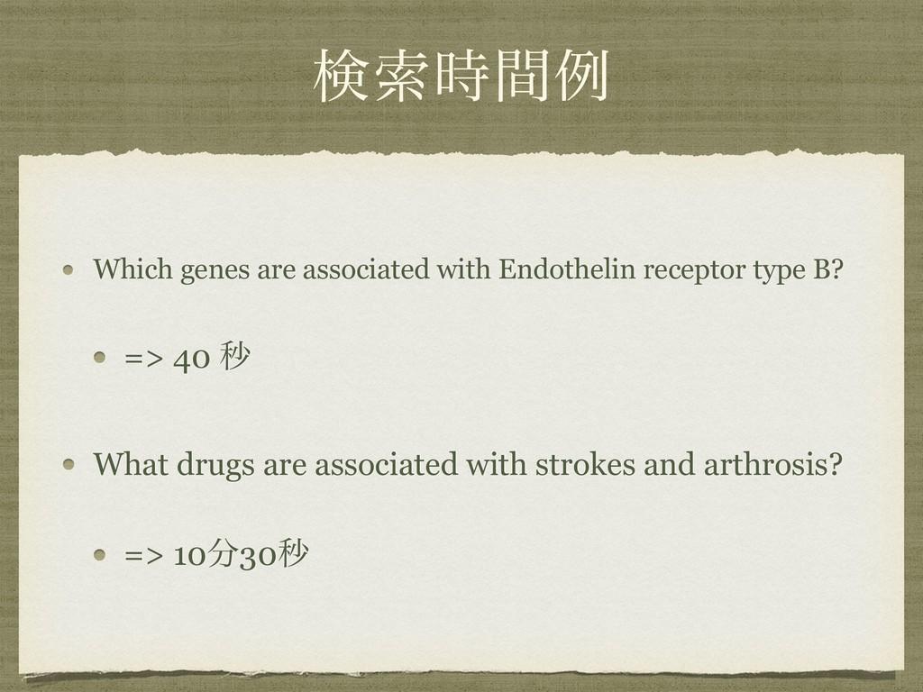 ݕࡧؒྫ Which genes are associated with Endotheli...