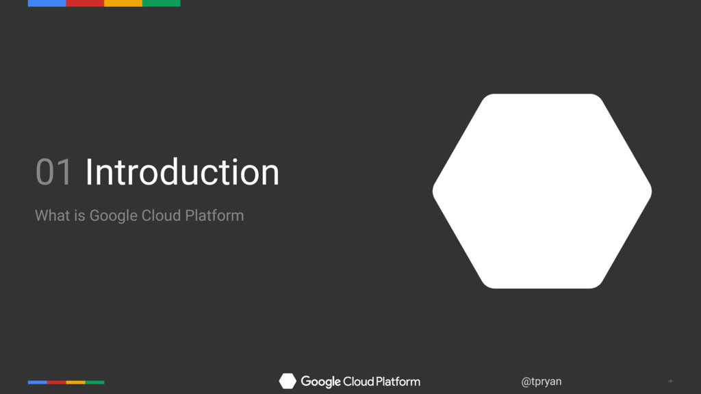 ‹#› @tpryan 01 Introduction What is Google Clou...