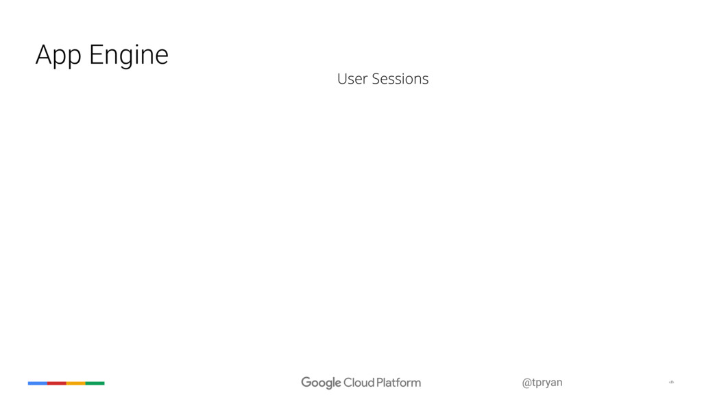 ‹#› @tpryan App Engine User Sessions