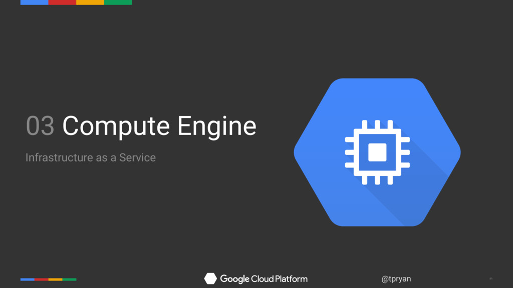 ‹#› @tpryan 03 Compute Engine Infrastructure as...