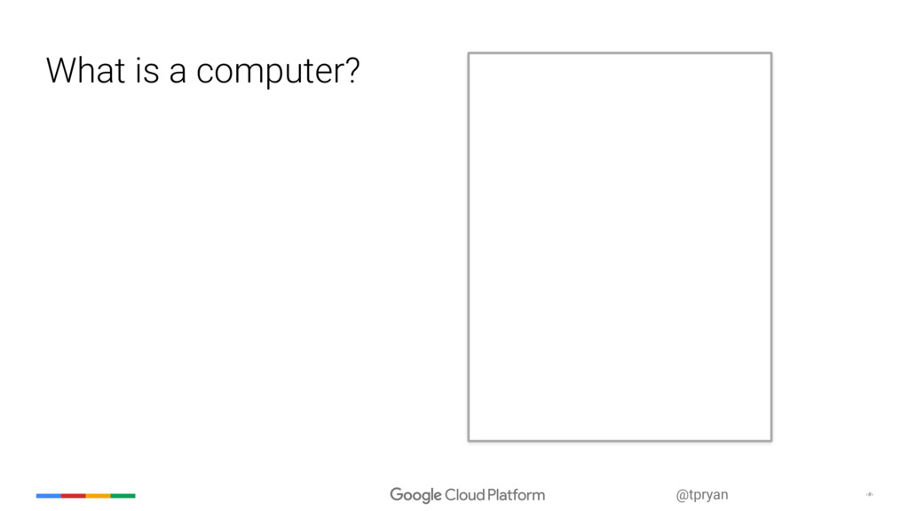 ‹#› @tpryan What is a computer?